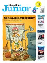 Tidningen Aftenposten Junior 25 nummer