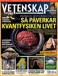Tidningen Allt om Vetenskap 4 nummer