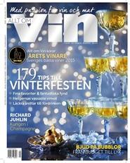 Tidningen Allt om Vin 3 nummer