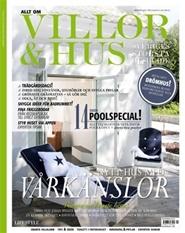 Tidningen Allt om Villor & Hus 4 nummer