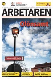 Tidningen Arbetaren 96 nummer