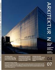 Tidningen Arkitektur N 8 nummer
