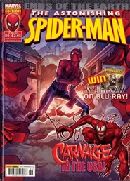 Tidningen Astonishing Spider Man 26 nummer