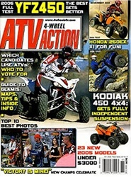Tidningen Atv 4 Wheel Action 12 nummer