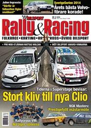 Tidningen Bilsport Rally&Racing 12 nummer