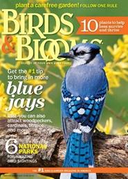Tidningen Birds & Blooms 6 nummer