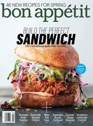 Tidningen Bon Appetit (US Edition) 12 nummer