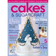 Tidningen Cakes And Sugarcraft 6 nummer