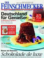 Tidningen Der Feinschmecker 12 nummer