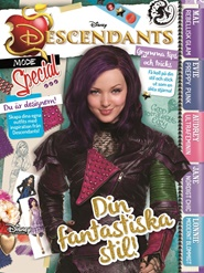 Tidningen Descendants 3 nummer