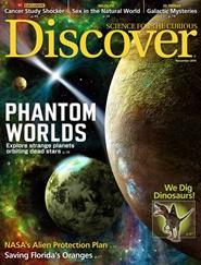 Tidningen Discover Magazine 10 nummer