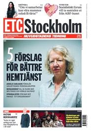 Tidningen ETC Stockholm 50 nummer