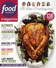 Tidningen Food Network Magazine 10 nummer