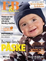 Tidningen Foreldre & Barn 6 nummer