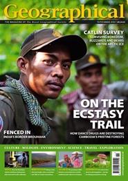 Tidningen Geographical 24 nummer