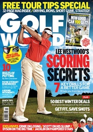 Tidningen Golf World (UK Edition) 12 nummer