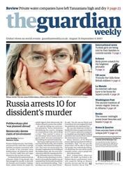 Tidningen Guardian Weekly 104 nummer