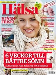 Tidningen HÄLSA 5 nummer