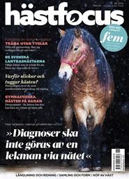 Tidningen Hästfocus 3 nummer