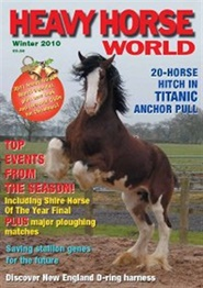 Tidningen Heavy Horse World 4 nummer