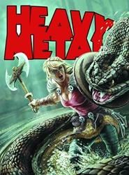 Tidningen Heavy Metal 6 nummer