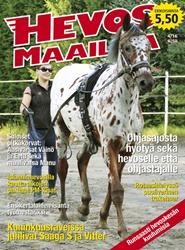 Tidningen Hevosmaailma 6 nummer