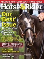Tidningen Horse & Rider 12 nummer