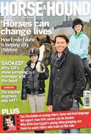 Tidningen Horse And Hound 52 nummer