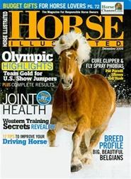 Tidningen Horse Illustrated 12 nummer