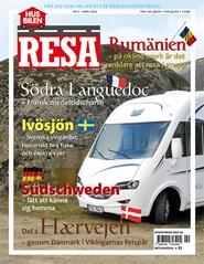 Tidningen Husbilen Resa 5 nummer