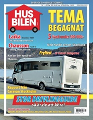 Tidningen Husbilen Test 10 nummer
