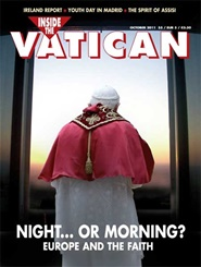 Tidningen Inside The Vatican Magazine 10 nummer
