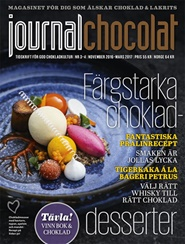 Tidningen Journal Chocolat 2 nummer