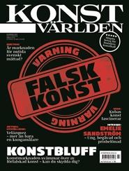Tidningen Konstvärlden 16 nummer