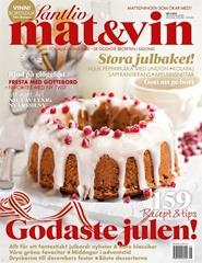 Tidningen Lantliv Mat & Vin 3 nummer