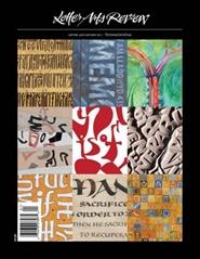 Tidningen Letter Arts Review 4 nummer