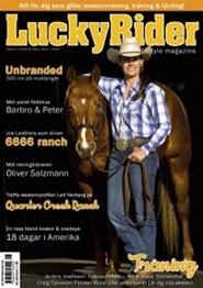 Tidningen Lucky Rider 8 nummer