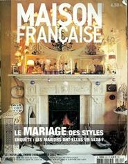 Tidningen Maison Francaise Magazine 8 nummer