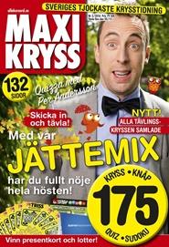 Tidningen Maxikryss 6 nummer