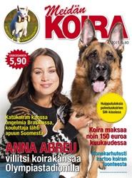 Tidningen Meidän Koira 3 nummer