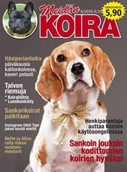 Tidningen Meidän Koira 6 nummer
