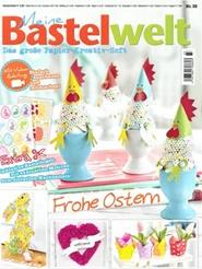 Tidningen Meine Bastelwelt 4 nummer