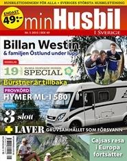 Tidningen Min Husbil i Sverige 3 nummer
