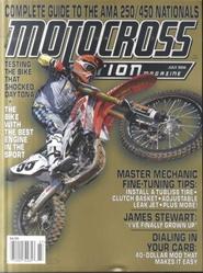 Tidningen Motocross Action 3 nummer