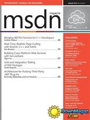 Tidningen Msdn Magazine 12 nummer