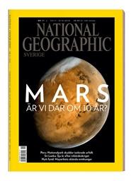 Tidningen National Geographic Sverige 4 nummer