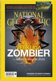 Tidningen National Geographic Sweden 4 nummer
