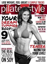 Tidningen Pilates Style 6 nummer