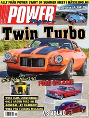 Tidningen Power Magazine 4 nummer