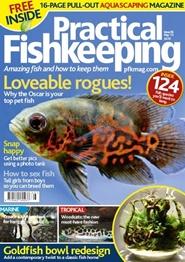 Tidningen Practical Fishkeeping 13 nummer